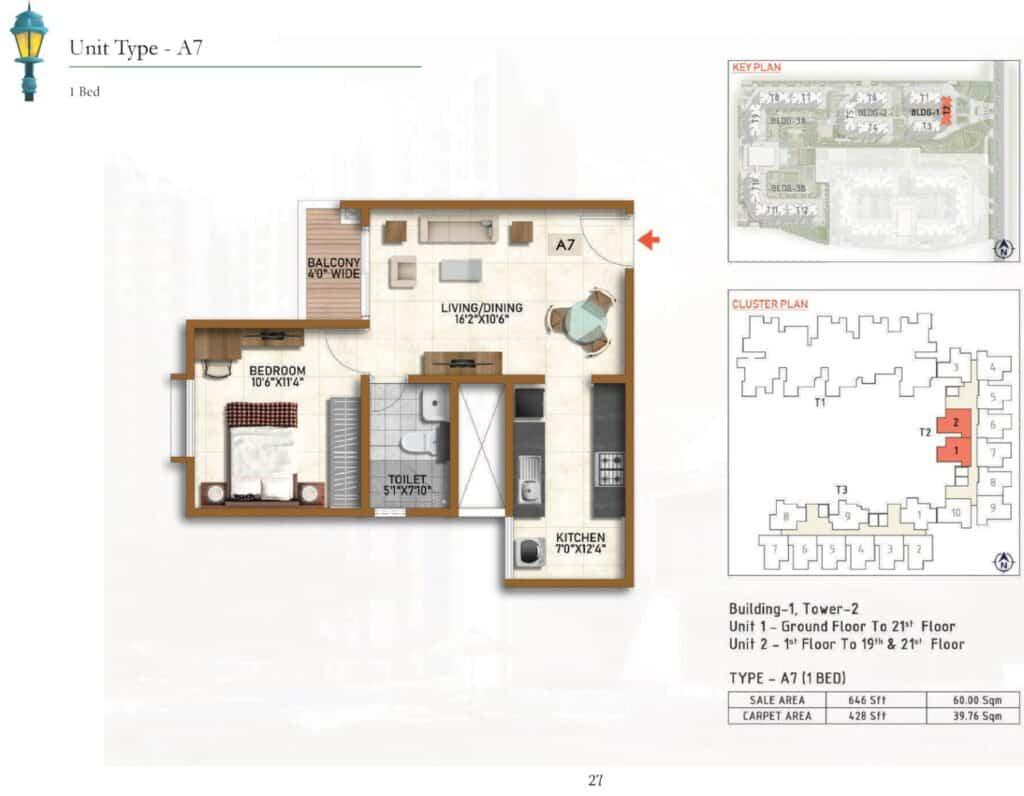 Prestige Finsbury Park Floor Plan