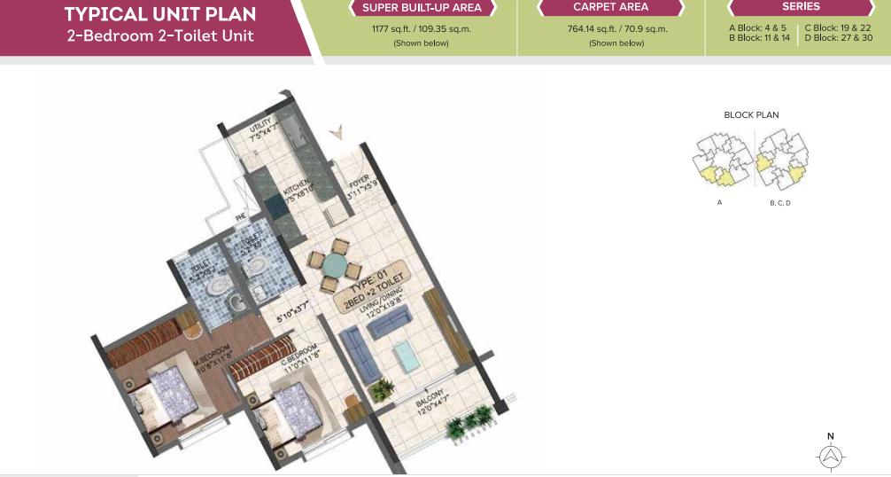 Brigade 7 Gardens Floorplan