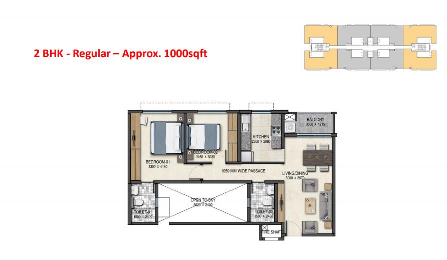 Sobha Dream Acres Floorplan